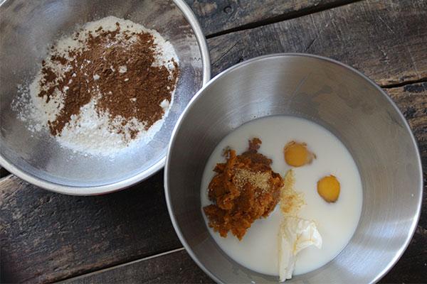 Kürbiswaffeln mit Zimtcreme | QVC Lieblingsküche