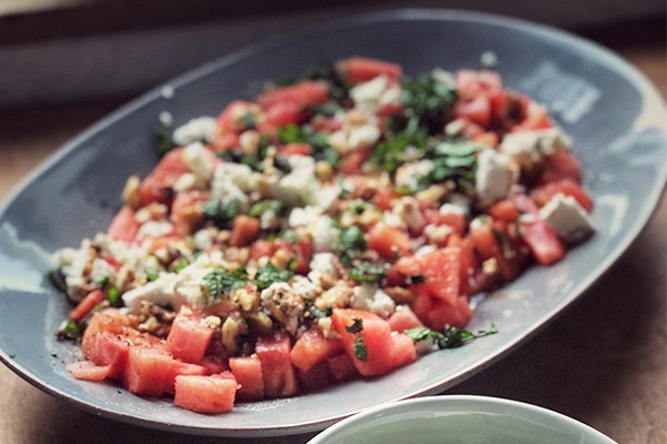 Melonen-Schafskäse-Salat von Pia Ampaw | QVC Lieblingsküche