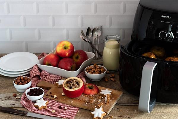 Bratapfel aus dem Airfryer