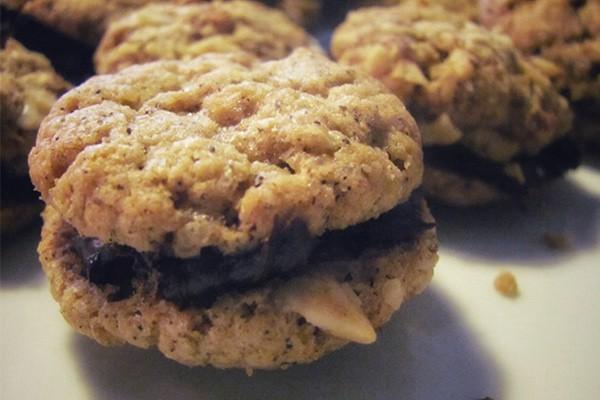 Espresso-Nougat-Cookies