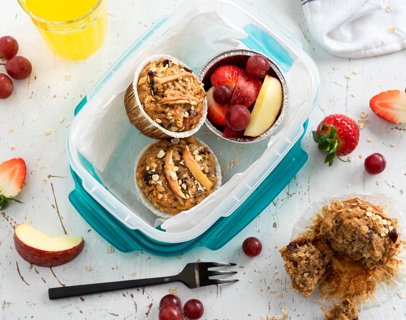 gesunde Frühstuecksmuffins