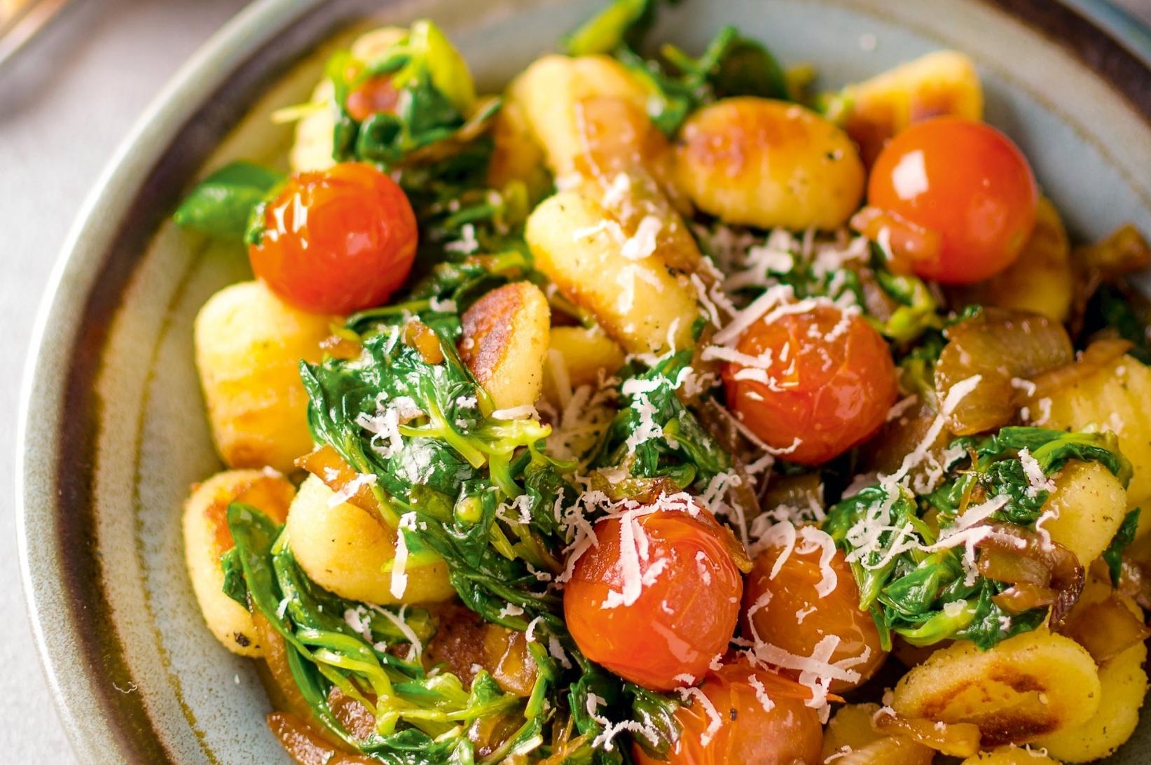 Gebratene Parmesan-Gnocci