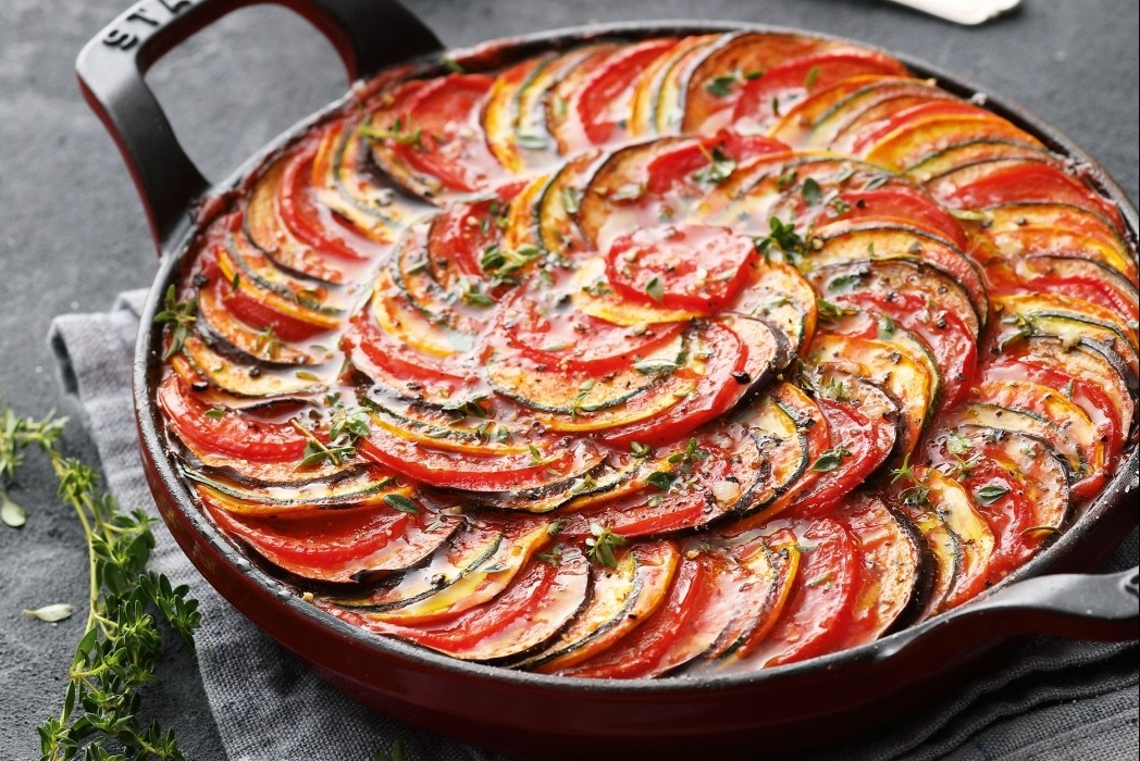 Würziges Ratatouille-Gemüse