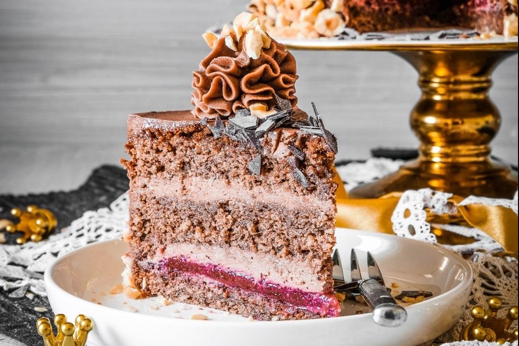 Nuss-Nougat-Torte
